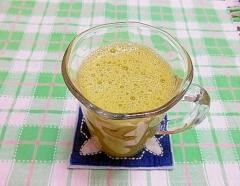 オレンジ青汁ジュース