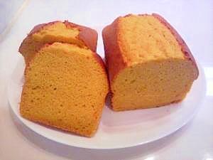 米粉で作ったカボチャのパウンドケーキ