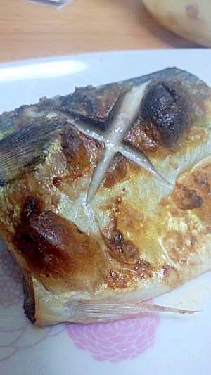 鯖の梅塩焼き
