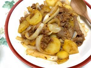 豚肉とジャガイモのコチジャン炒...