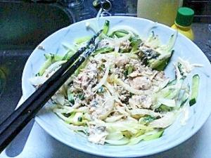 簡単おいしいサバ缶サラダ