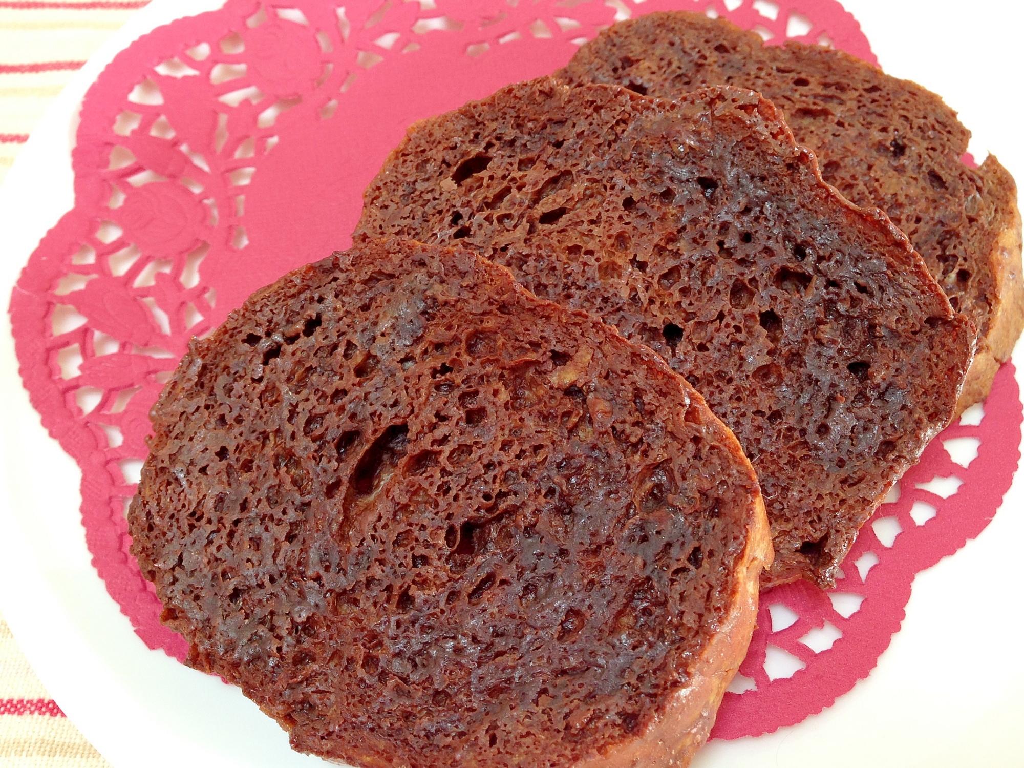 1. フランスパンでしみチョコラスク