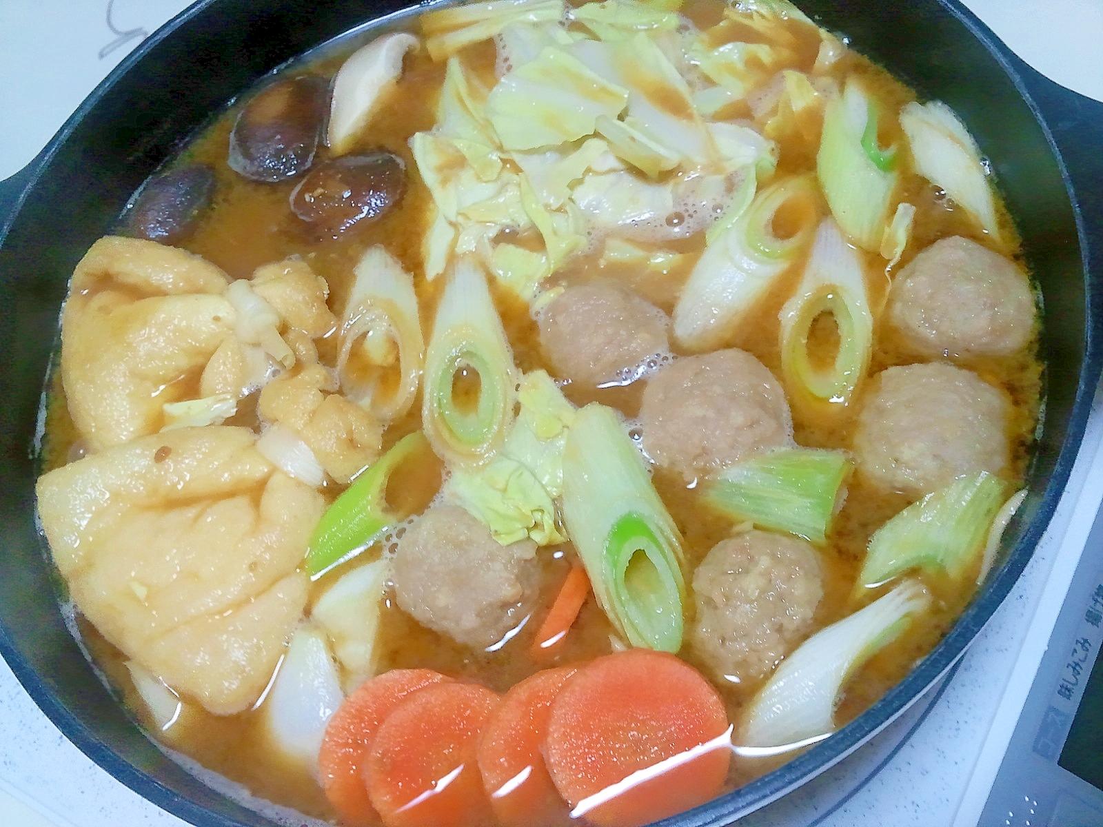 濃い味噌鍋++