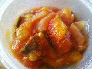 簡単今ある野菜でラタトゥユ