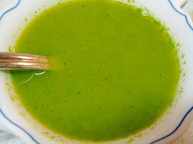 ブロッコリーと南瓜の和風スープ