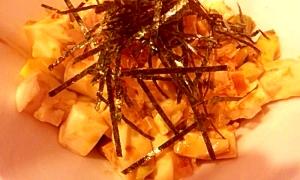 アボカドと絹ごし豆腐の簡単サラダ