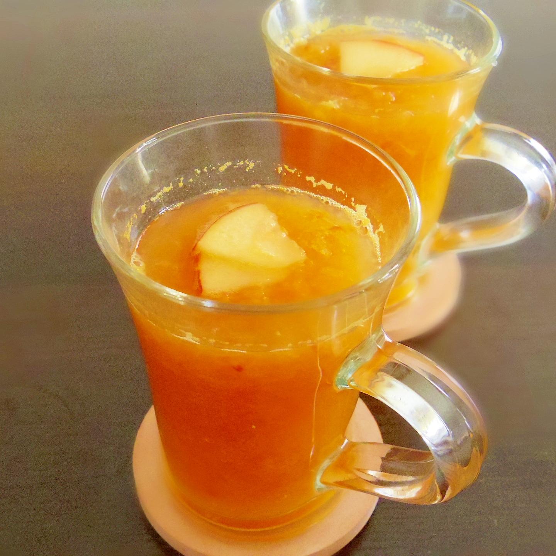 3. ホットで温まる「りんごジュース」