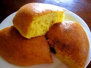 HMと炊飯器で超簡単サツマイモのふかふかケーキ♪