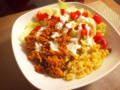 NYで大人気のトルコ料理☆チキンオーバーライス