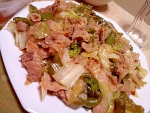 豚こま切れ肉とキャベツとピーマンの回鍋肉♪ レシピ・作り方 by YUKA835|楽天レシピ