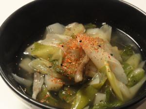 風邪撃退!野菜たっぷりスープ