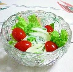 春雨入りの野菜サラダ♪