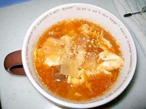 あったかキムチスープ