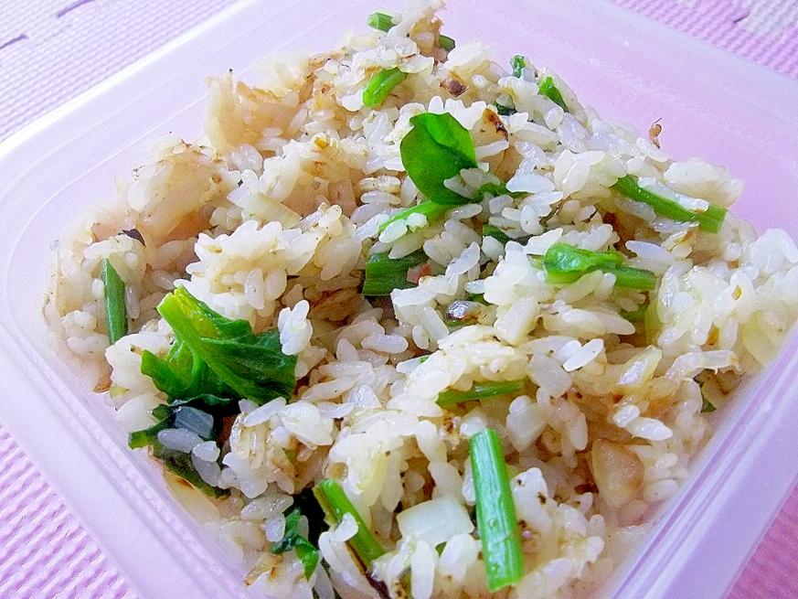 鉄分&カルシウム☆ほうれん草と桜えびの炒飯☆