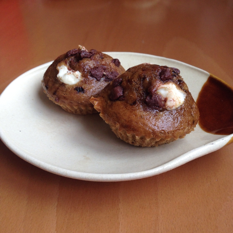 チョコモカクリームチーズマフィン♪