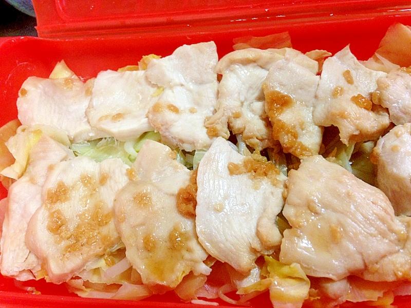 【ダイエット】ルクエで、鶏むね肉の醤油こうじ蒸し