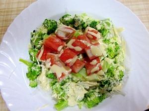 旬の大根とカニカマ~簡単サラダ
