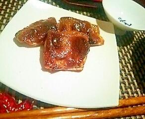 ご飯もお酒もすすむ、秋刀魚の黄身肝醤油焼き