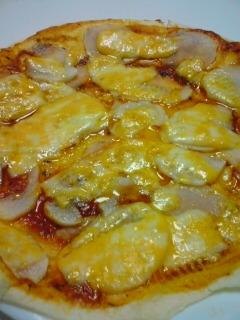 トルティーヤで作る、ほくほく山芋のピザ風