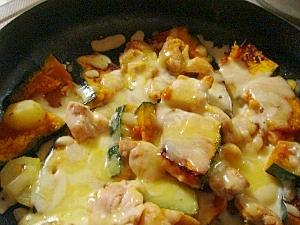 フライパン1つで、簡単チーズ焼き♪