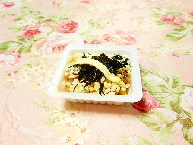 ひじきと天かすのマヨ山葵納豆