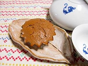 簡単米粉でチョコレートマフィン風
