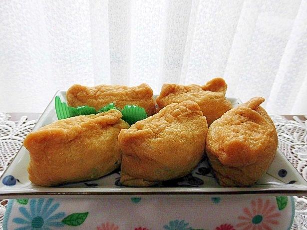 ワカメの稲荷寿司