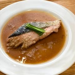 簡単☆鮭の蒸焼き。甘酒醤油