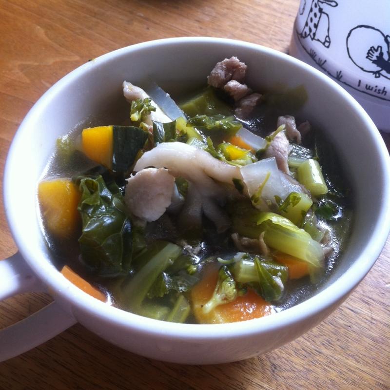 豚肉と野菜のダイエットスープ