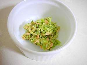 離乳食☆鮭のブロッコリーあんかけ♪
