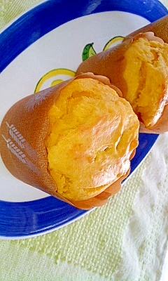 かぼちゃの煮物リメイク★簡単かぼちゃマフィン