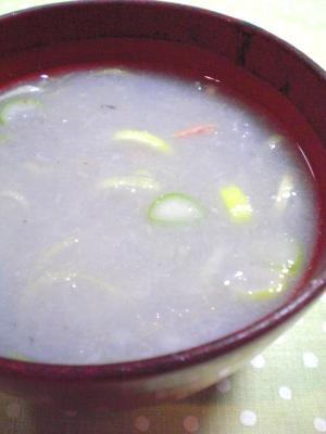 中華風☆レンコンスープ
