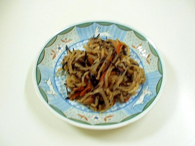 ひじきと切干大根の煮物