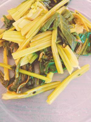 小松菜 レンジ ナムル