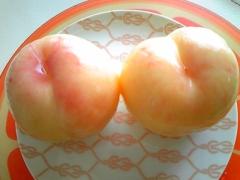 桃の皮をつるんとキレイにむく方法♪