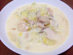 白菜消費 鶏肉と白菜のクリーム煮 レシピ 作り方 By うーころちゃん