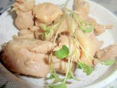 簡単!鶏モモポン酢煮