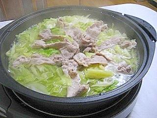 シンプルだけど美味しい★和風豚鍋