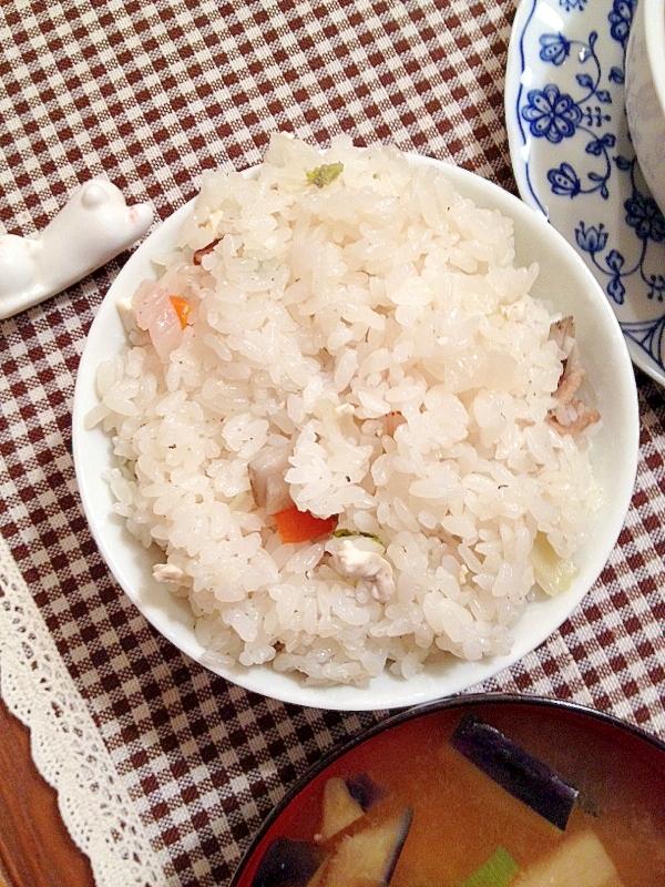 豚汁リメイク☆豚汁ご飯