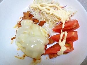 とろ~りチーズの照り焼きチキン