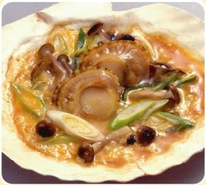 ホタテを使った青森の郷土料理!貝焼き味噌