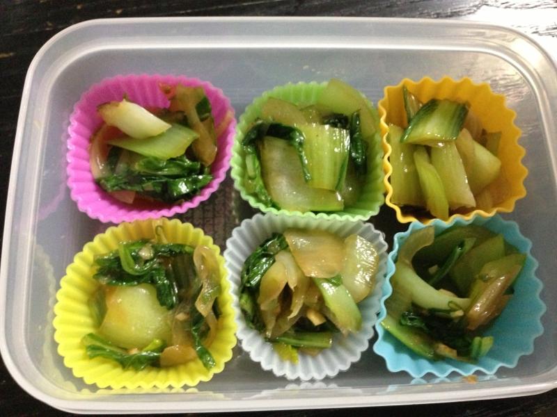 お弁当に☆青梗菜のオイスターソース炒め☆冷凍可 レシピ・作り方
