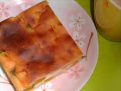 ホットケーキミックスでつくるヨーグルト南瓜ケーキ