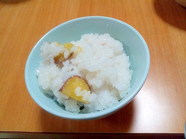 保温調理鍋で作る簡単芋がゆ