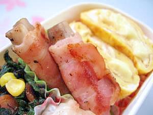 お弁当に♪山芋のベーコン巻き
