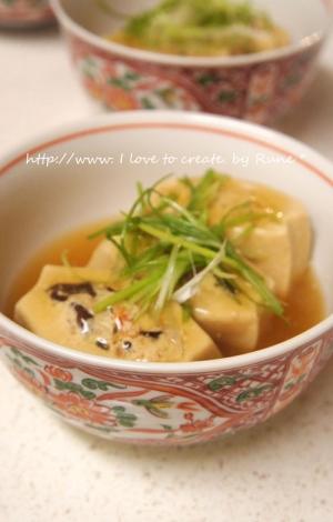 高野豆腐のご飯に合うお惣菜