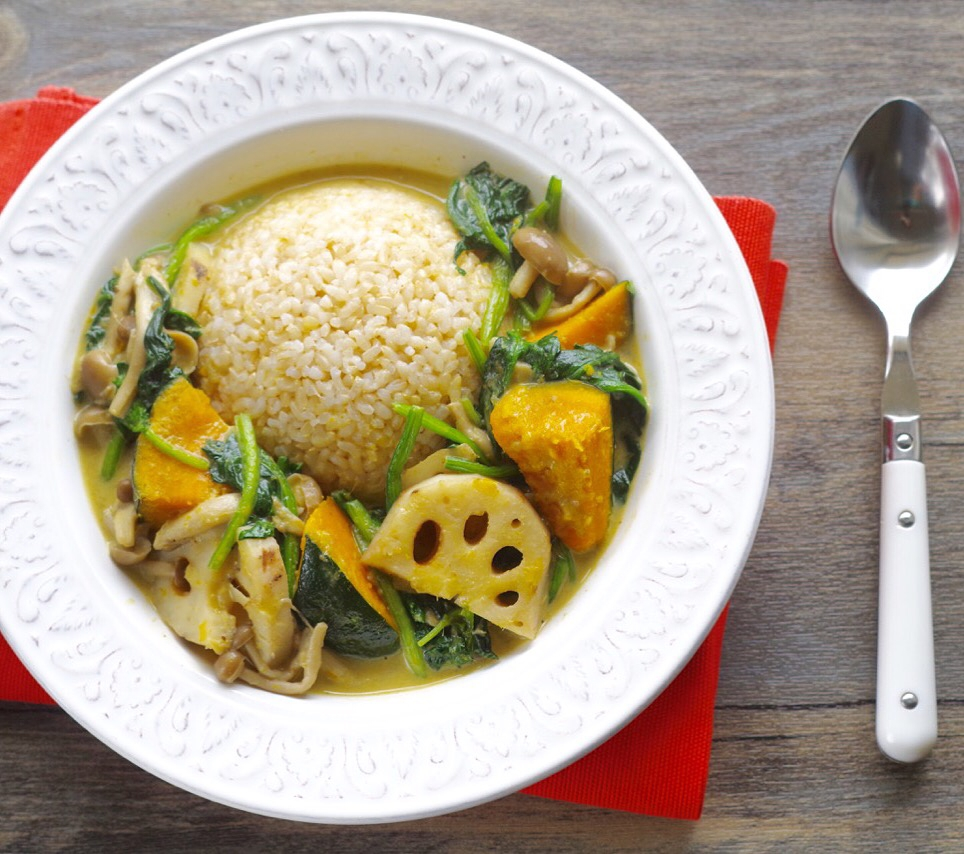 秋野菜の簡単グリーンベジカレー レシピ・作り方 by saki_s_kitchen|楽天レシピ