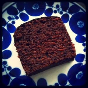 混ぜるだけ。ココアマーマレードパウンドケーキ