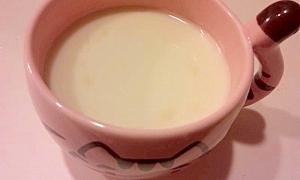風邪っぴきに♪ハニージンジャーミルク
