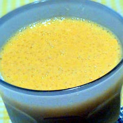 パインマンゴー&グレープフルーツのスムージー♪